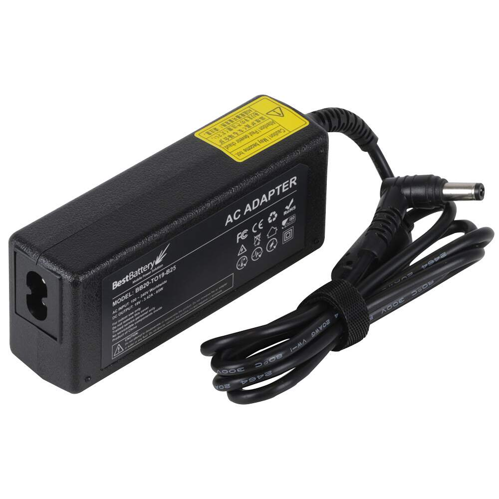 Fonte Notebook Asus 19V 3,42A 65W BB20-TO19-B25 5.5x2.5mm (Positivo, CCE, Toshiba, LG)