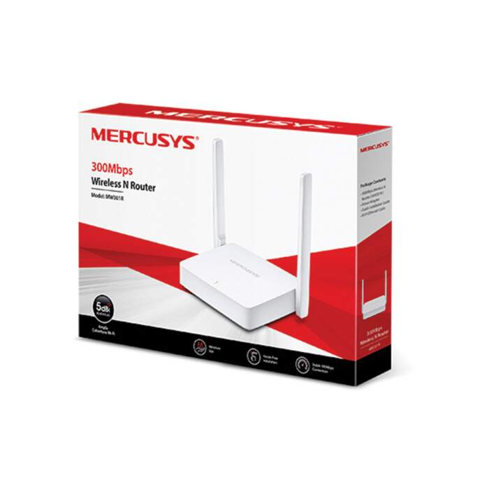 Roteador Wireless Mercusys MW301R N 300Mbps