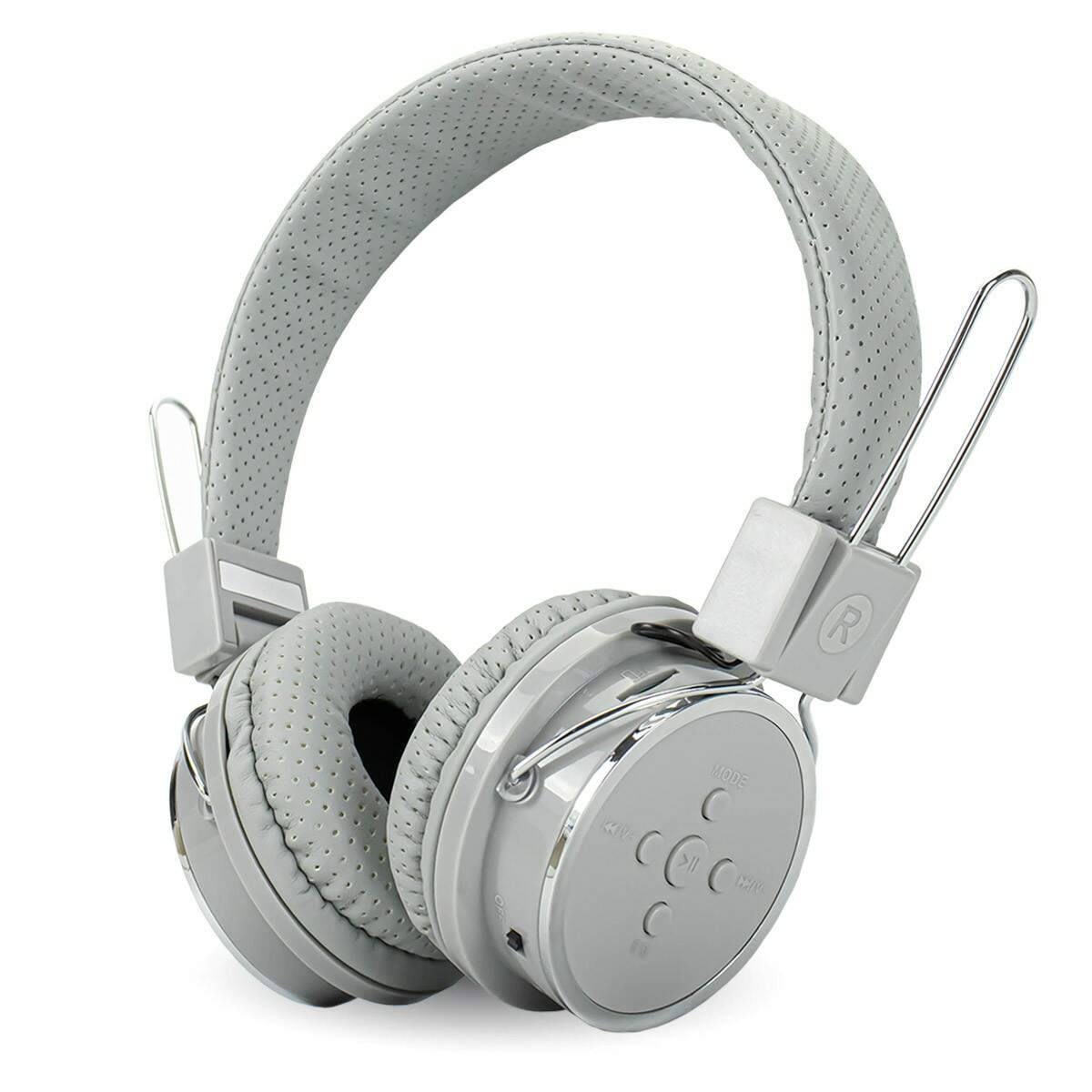 Headphone Bluetooth 5.0 Knup KP-367 Cinza