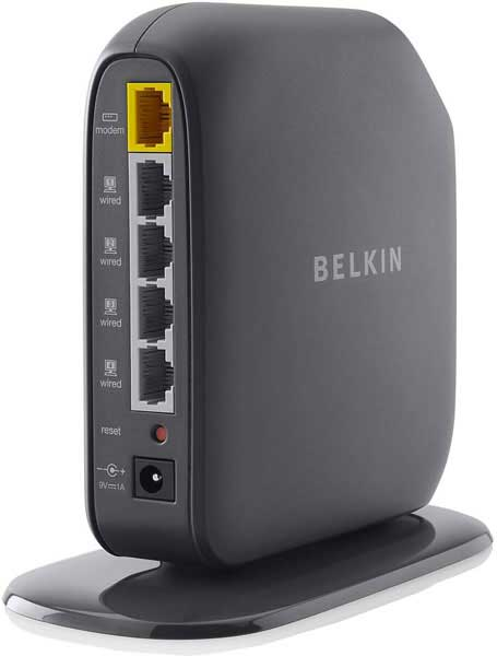 Roteador Wireless Belkin Connect N150 - 150Mbps