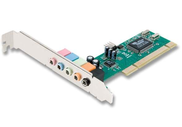 Placa de Som Encore 5.1 Canais - ENM232-6VIA - PCI