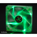 Fan 120mm Akasa Verde c/ 4  LEDs