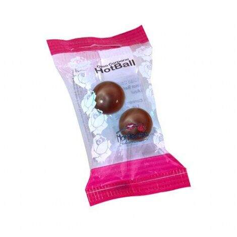 HOT BALL 02 UNI CHOCOLATE - Marcasexy Sexshop