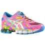 Gel Sendai 2 Hot Pink / White / Flash Yellow Feminino