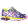 Gel Sendai 2 Purple / Hot Pink / Flash Yellow Feminino