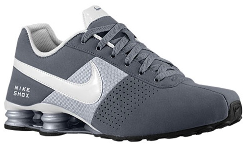 the latest e5131 71875 Shox Deliver Grey   White   Grey Masculino