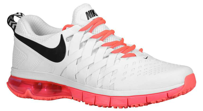 Fingertrap Air Max White / Black / Hyper Punch Masculino