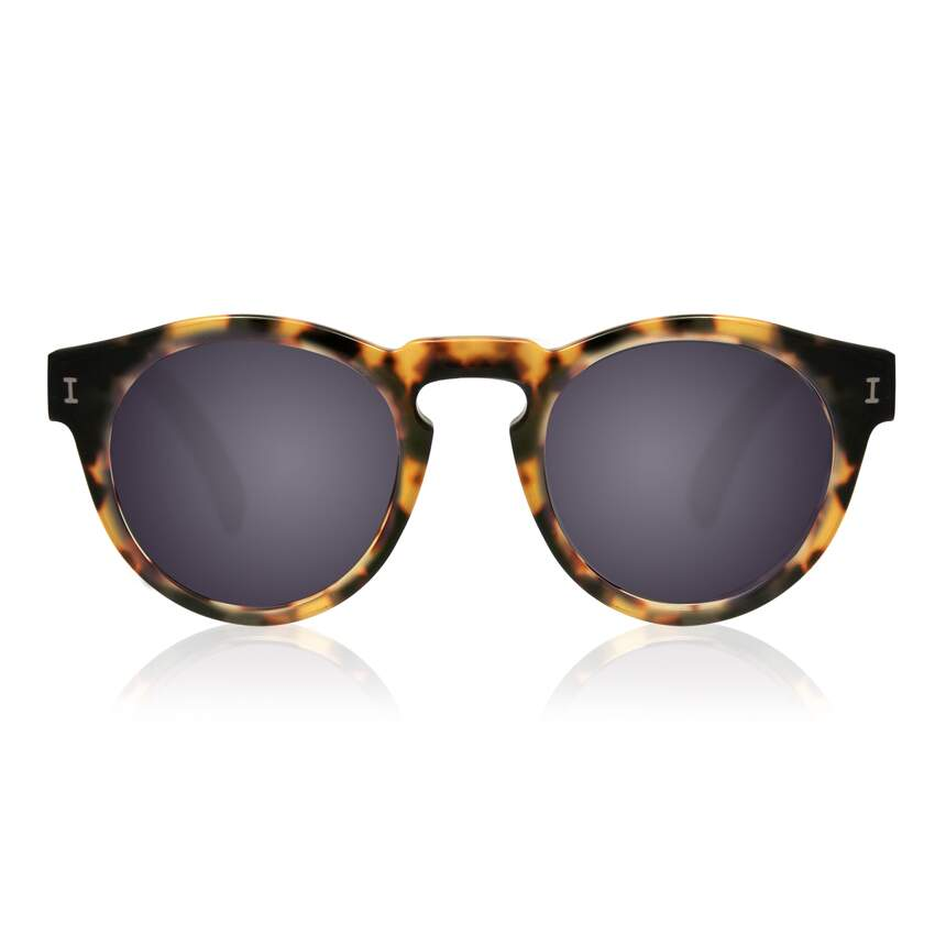 Leonard Tortoise with Metal Mirrored Lenses