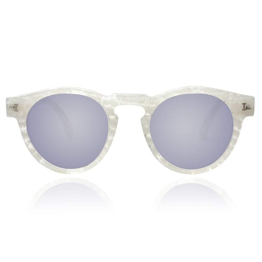 Leonard Frost with Metal Mirrored Lenses