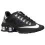 Shox Superfly R4 Black / Metallic Silver / White Feminino