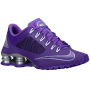 Shox Superfly R4 Court Purple / Metallic Silver / White / Hyper Grape Feminino