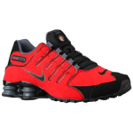 Shox NZ University Red / Black / Dark Grey Masculino
