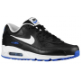 Air Max 90 Black / White / Hyper Cobalt Masculino