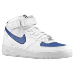 Air Force 1 Mid White / Blue Legend / White Masculino