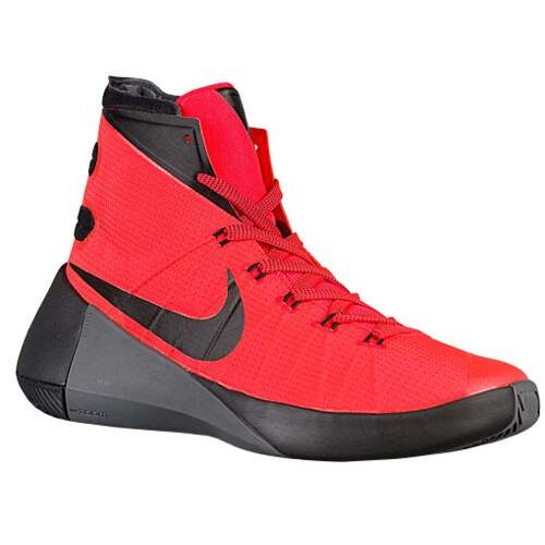 Hyperdunk 2015 Bright Crimson / Dark Grey / Black Masculino