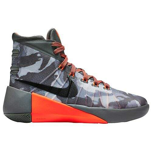 Hyperdunk 2015 Tumbled Grey / Night Silver / Deep Pewter / Black Infantil