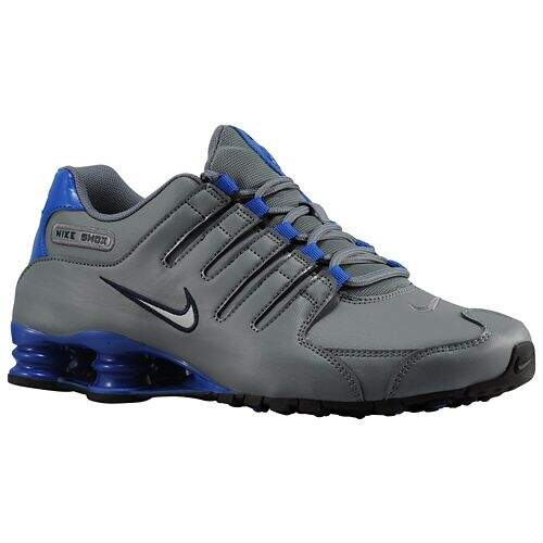 Shox NZ Cool Grey / Game Royal / Dark Obsidian / Metallic Silver Masculino