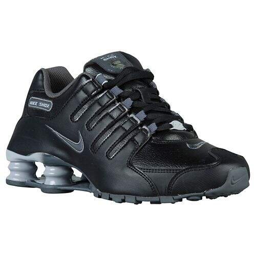 Shox NZ EU Black / Wolf Grey / Dark Grey Feminino