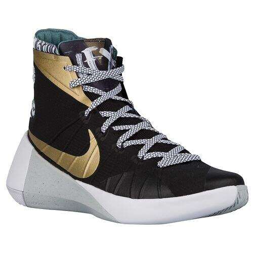 Hyperdunk 2015 Black / Metallic Gold / Black Masculino