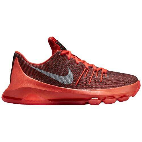 KD 8 Bright Crimson / Black / Cool Grey / White Infantil