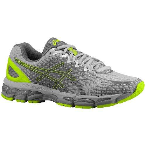 Gel Nimbus 17 Lite Show Flash Yellow / Silver / Black Masculino