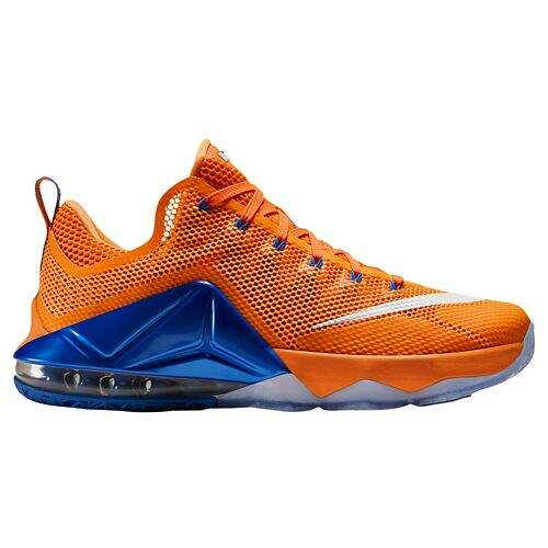 LeBron 12 Low Bright Citrus / Total Orange / Soar / Fiberglass Masculino