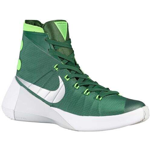 Hyperdunk 2015 Gorge Green / Metallic Silver / Electric Green Feminino