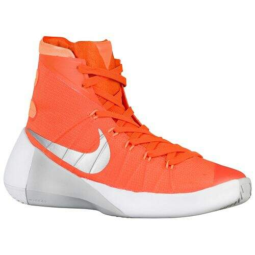 Hyperdunk 2015 Orange Blaze / Bright Citrus / White / Metallic Silver Masculino