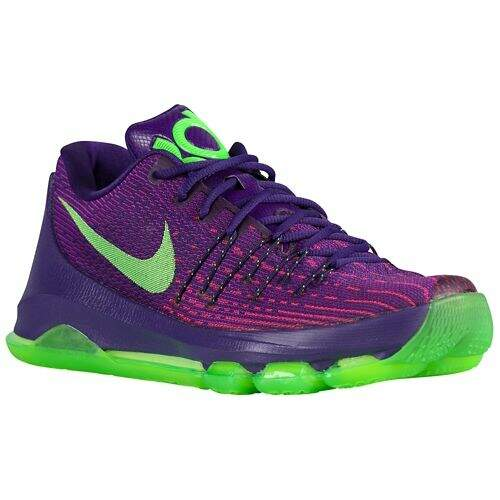 KD 8 Crt Purple / Viv Purple / Brt Crimson / Green Strike Infantil
