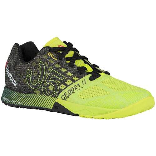 CrossFit Nano 5.0 Semi Solar Yellow / Black / Flat Grey Feminino