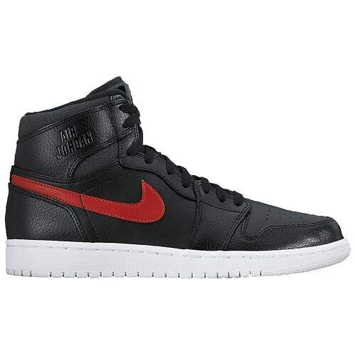 Jordan AJ 1 High Black / Gym Red / Black / White Masculino