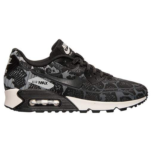 Air Max 90 Jacquard Dark Grey / Black / Pure Platinum / White Feminino