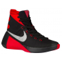 Hyperdunk 2015 Black / Metallic Silver / University Red Masculino