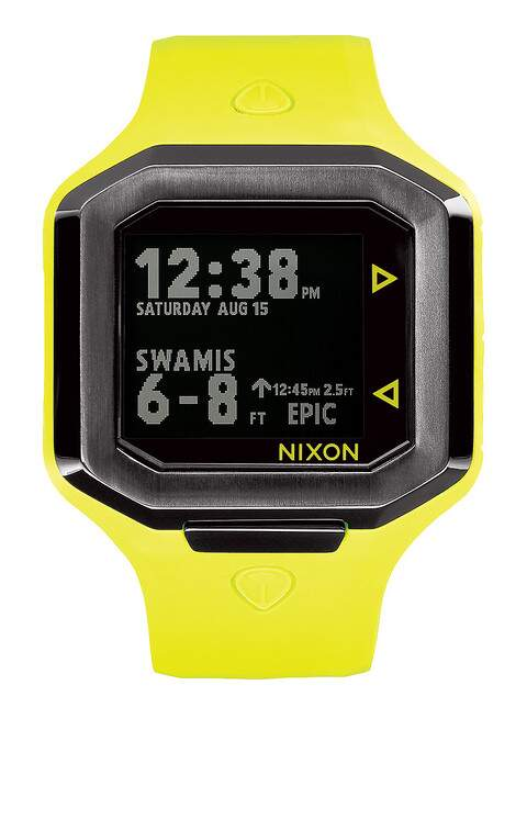 Ultratide Neon Yellow / Gunmetal