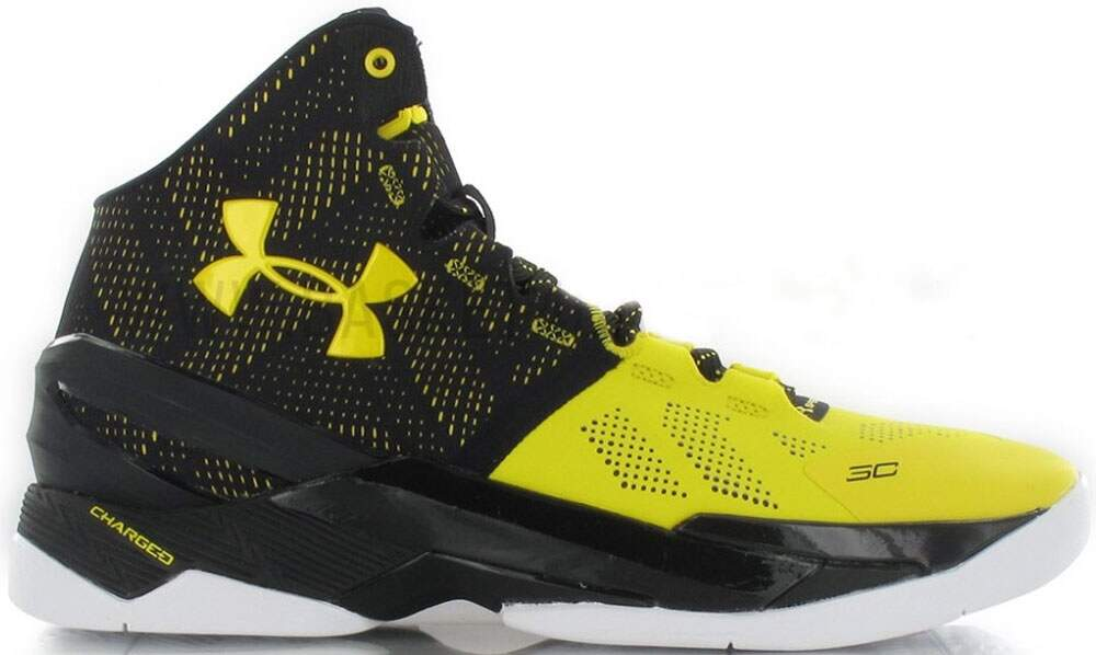 Curry 2 Black / Taxi Masculino