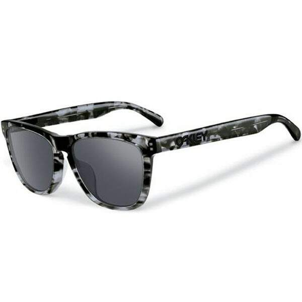 Frogskins LX Dark Grey Tortoise / Black Iridium OO2043-08