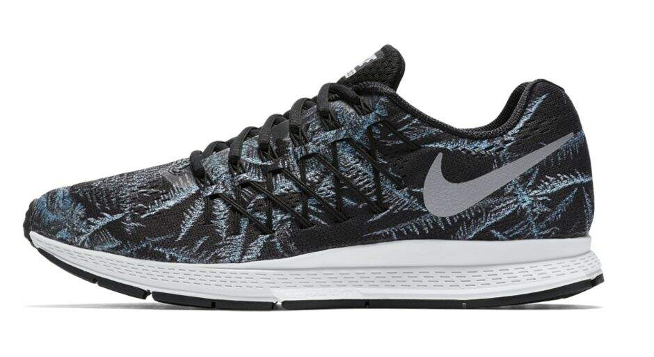 Air Zoom Pegasus 32 Black / Reflective Silver / Pure Platinum Solstice Pack Masculino