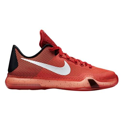 Kobe X Elite University Red / White / Bright Crimson / Black Infantil