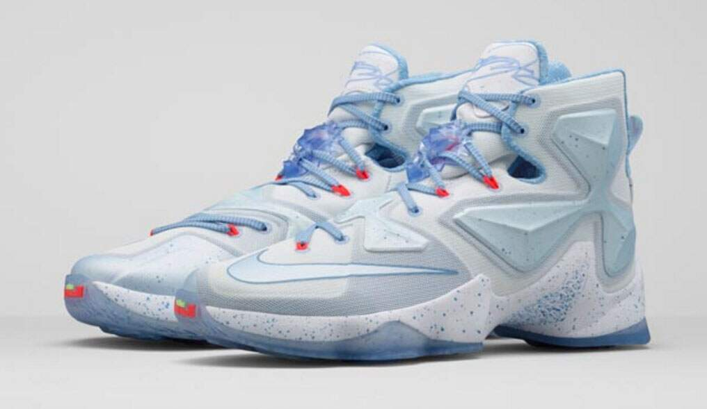 LeBron XIII Summit White / Blue Tint / Light B Lue Masculino