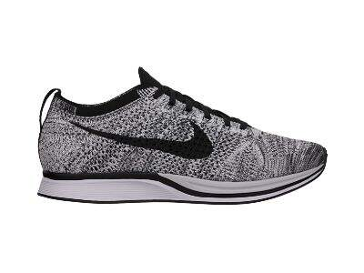 Flyknit Racer White / Black / Vol Cookies and Cream Masculino
