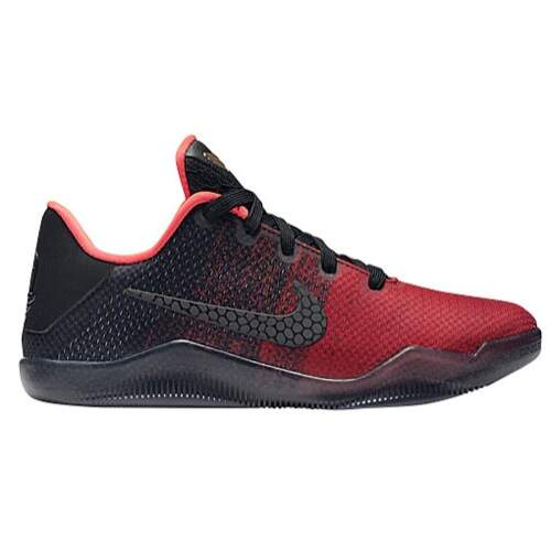 Kobe 11 Elite Low University Red / Metallic Gold / Black / Bright Crimson Infantil