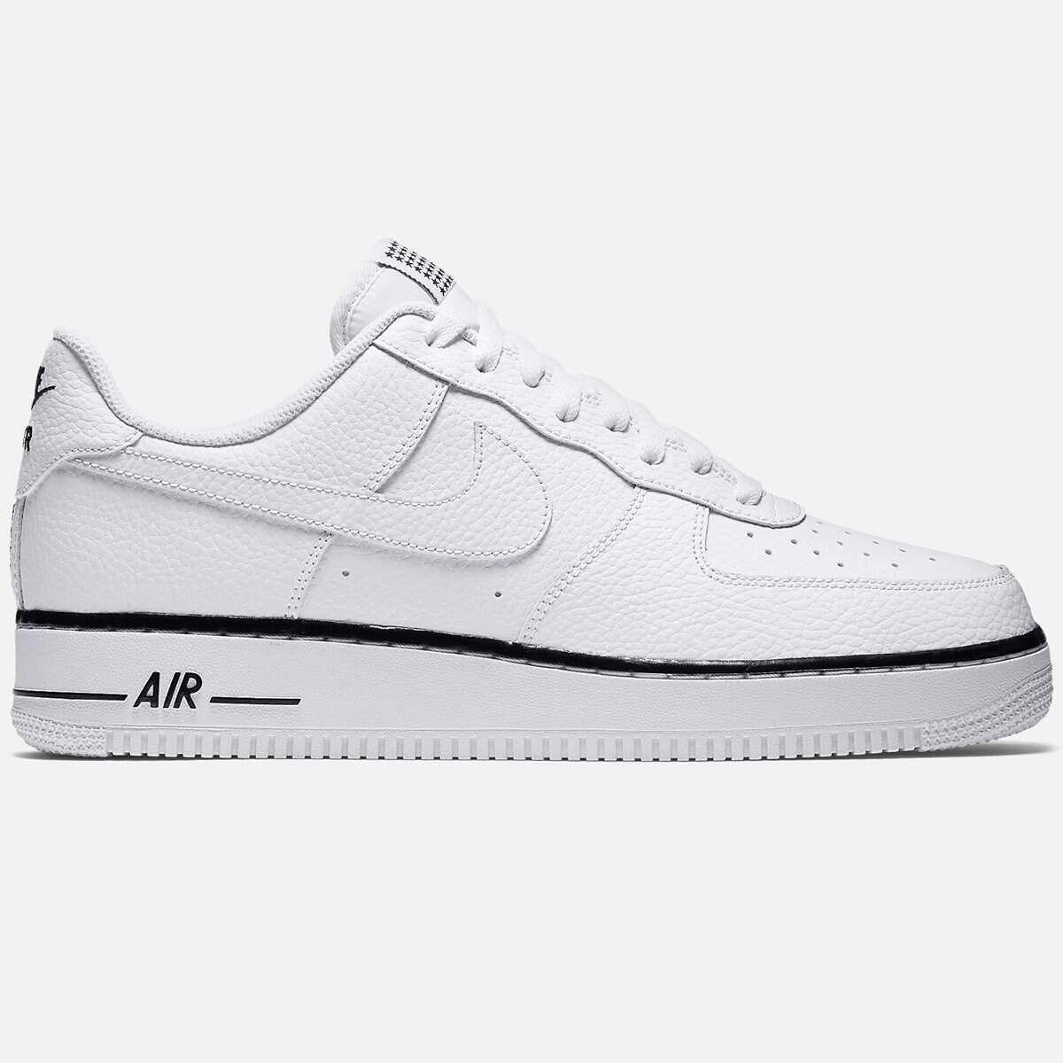 Air Force 1 Low White / Black / White Masculino