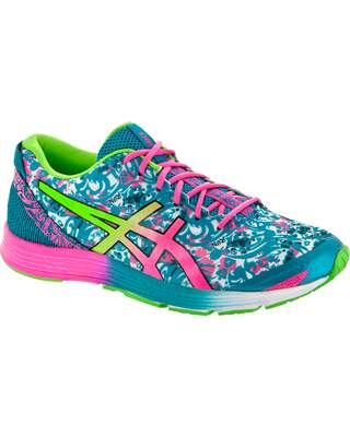 Gel Hyper Tri 2 Tile Blue / Hot Pink / Green Gecko Feminino