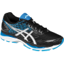 Gel Nimbus 18 Black / White / Island Blue Masculino