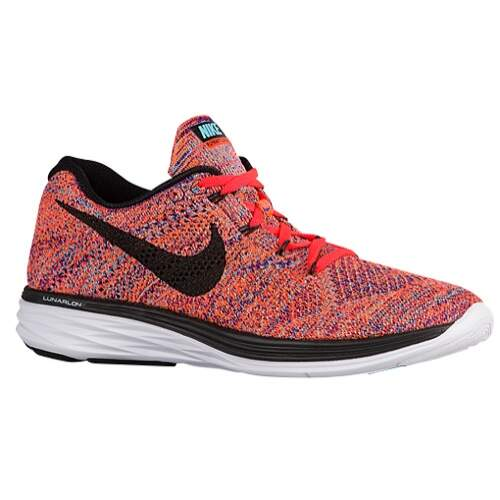 Flyknit Lunar 3 Concord / Total Crimson / Total Orange / Black Masculino
