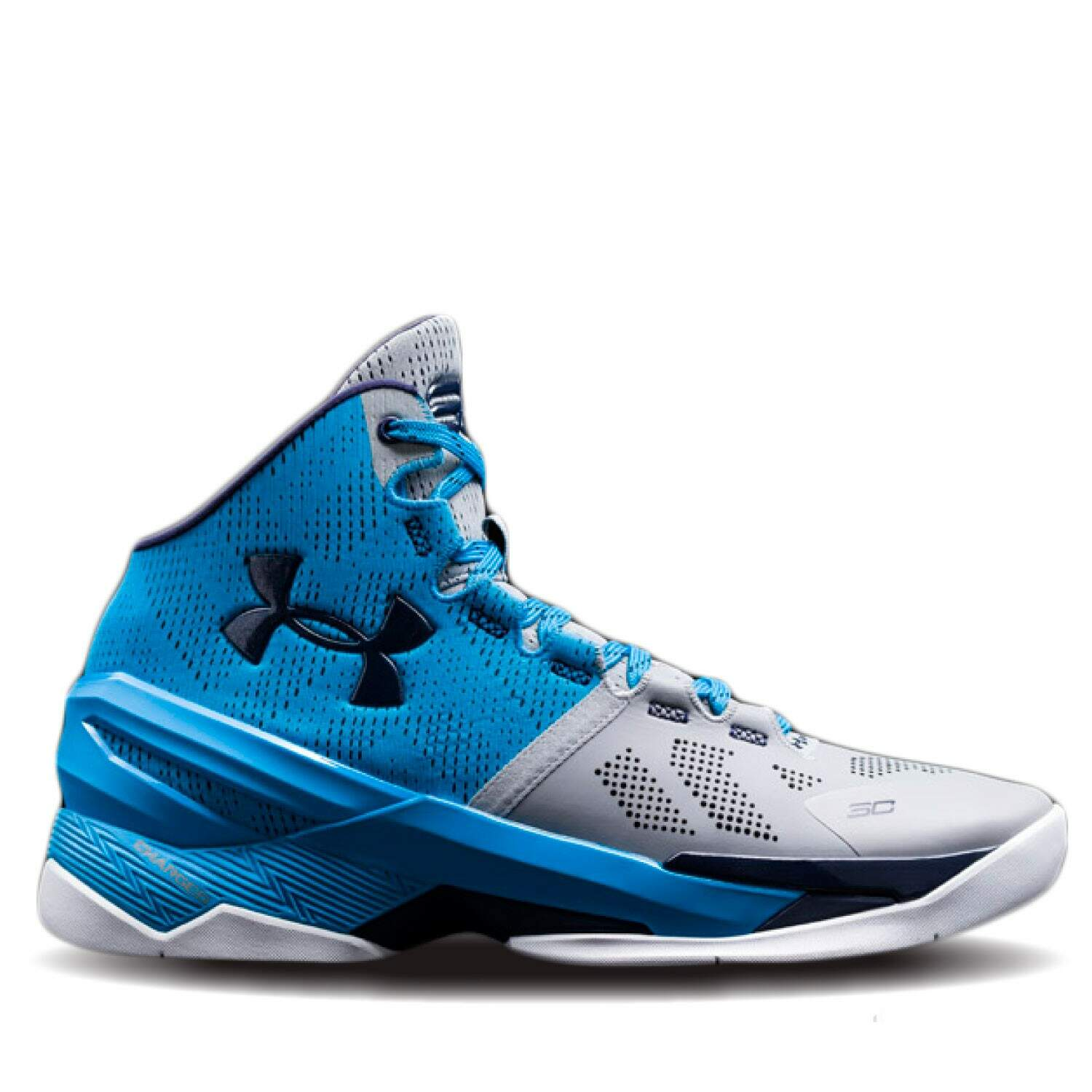 Curry 2 Steel / Electric Blue / Midnight Navy Infantil