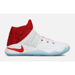 Kyrie 2 White / University Red / Gym Red Infantil