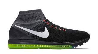Zoom All Out Flyknit Black / Cool Grey / Volt / White Feminino