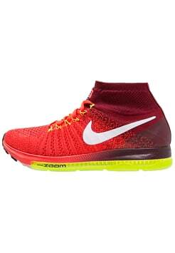 Zoom All Out Flyknit Bright Crimson / Team Red / Volt / White Feminino