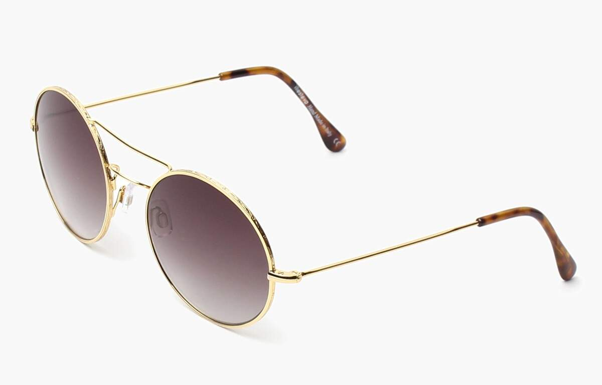 Delon Gold with Brown Gradient Lenses